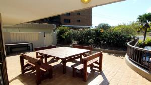 A balcony or terrace at Pinnacle G2 - CBD Location