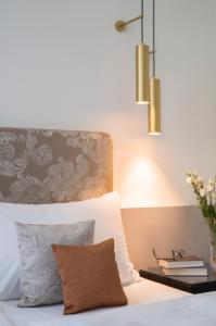 Ein Bett oder Betten in einem Zimmer der Unterkunft Bad Schauenburg