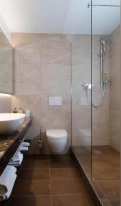 Ein Badezimmer in der Unterkunft Bad Schauenburg