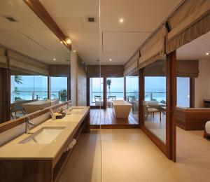 Ванная комната в Riff Hikkaduwa - Level 1 Safe & Secure