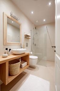 Ein Badezimmer in der Unterkunft Castello Fai