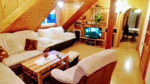 Posezení v ubytování Apartment U Malše 12