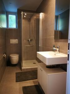 Ein Badezimmer in der Unterkunft Casa Carmela