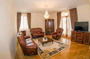 Prostor za sedenje u objektu Villa Ramonte