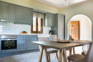 A kitchen or kitchenette at Cephalonian Countryside Villa