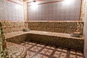 Ванная комната в Hotel Aurora