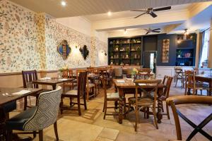 A restaurant or other place to eat at The Fleece at Cirencester