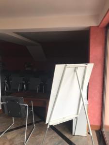 Телевизия и/или развлекателен център в Hotel Temenuga