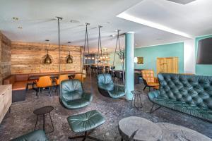 منطقة البار أو اللاونج في فندق بيرغ شميتنهوه