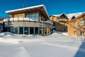 Obiekt Hotel Olympie zimą