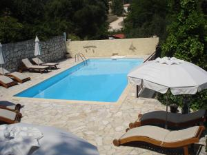 A view of the pool at Kiki Apartments or nearby