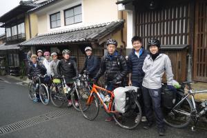 Biking at or in the surroundings of Hostel & Tatami Bar Uchikobare