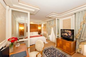 TV/Unterhaltungsangebot in der Unterkunft Swiss Diamond Hotel & Spa
