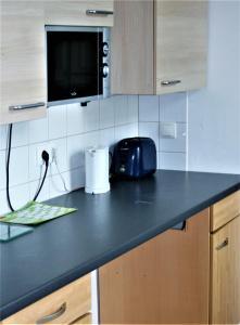 Küche/Küchenzeile in der Unterkunft Kleiner Herrenhof
