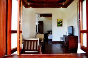 A television and/or entertainment center at Sa Huynh Resort