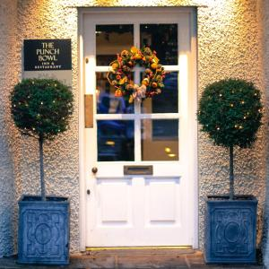 The facade or entrance of The Punch Bowl Inn