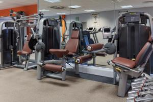 The fitness center and/or fitness facilities at Telford Hotel & Golf Resort - QHotels