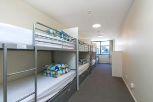 A bunk bed or bunk beds in a room at Hobson Lodge