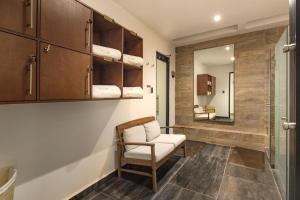 Zona de estar de Hacienda Santo Cristo Hotel & Spa