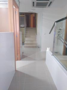 A bathroom at Hostal Ducal