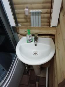 A bathroom at Guesthouse U Batushki
