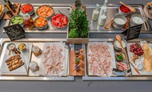 Breakfast options available to guests at Radisson Hotel & Suites, Gdansk