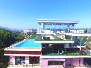 A view of the pool at View360 or nearby