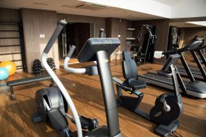Gimnasio o instalaciones de fitness de Rio Hotel by Bourbon Ciudad Del Este