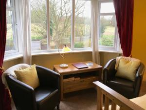 A seating area at The Stanage B&B