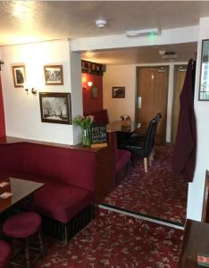 The lobby or reception area at The Royal George Staithes