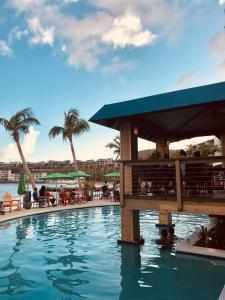 The swimming pool at or near Bolongo Bay Beach Resort