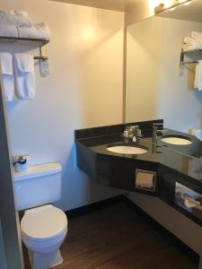 A bathroom at Stonebridge Hotel