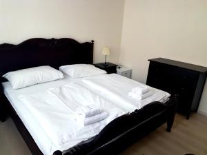 Postel nebo postele na pokoji v ubytování Hotel Union