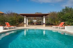 A piscina localizada em Villa San Sebastian ou nos arredores