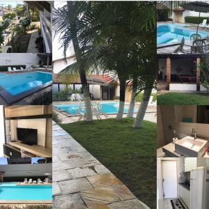 The swimming pool at or close to Apto. n. 208 no Cond. Cumaru