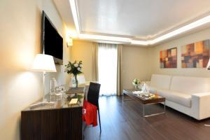 A seating area at Vincci Selección Aleysa, Hotel Boutique & Spa