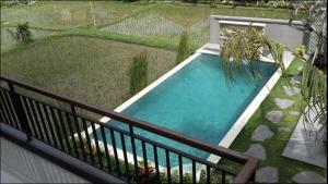 A view of the pool at Puji Hostel and Bungalow Ubud or nearby