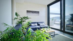 A seating area at Sky Beach Aparthotel