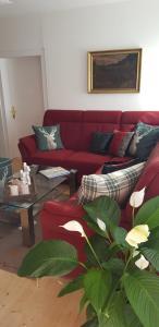 Ein Sitzbereich in der Unterkunft Villa Maxglan