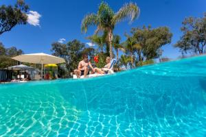 The swimming pool at or close to BIG4 Renmark Riverfront Holiday Park
