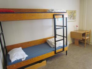 A bunk bed or bunk beds in a room at Fit Guesthouse Keflavik Airport