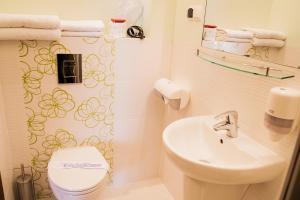 Ein Badezimmer in der Unterkunft Willa Jolanta