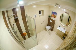 Koupelna v ubytování Buxusson Resort
