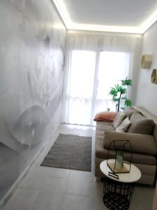 A seating area at Family Apartman