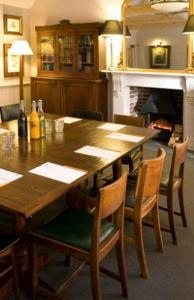 A restaurant or other place to eat at The Lion Inn