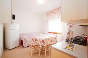Kuchyň nebo kuchyňský kout v ubytování Apartment-House Depa
