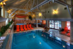 The swimming pool at or near Szarvaskút Hotel