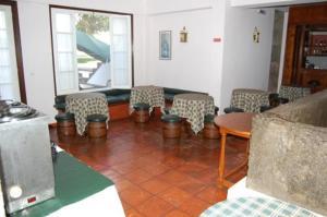Zona de estar de Hotel Ilha Graciosa