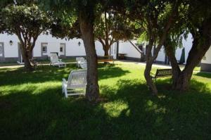 Jardín al aire libre en Hotel Ilha Graciosa