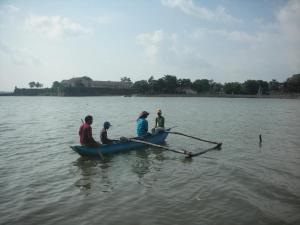 Canoeing at the villa or nearby